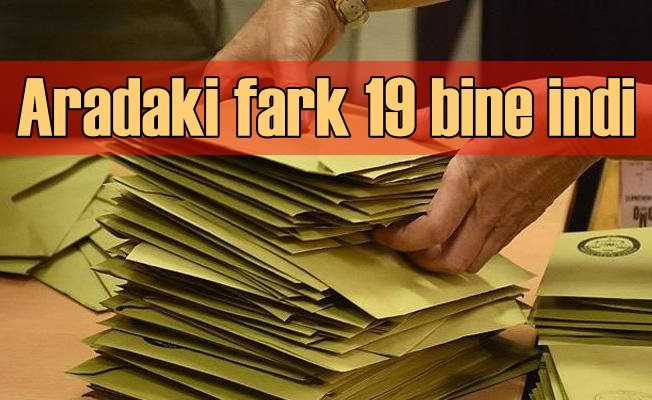 Geçersiz oylarda son durum   İstanbul'da fark 19 bin