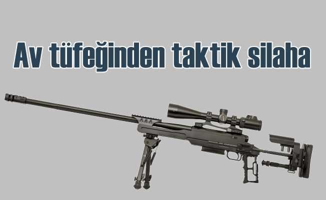 Huğlu'da af tüfeği yaparak başladı, taktik silah üretti