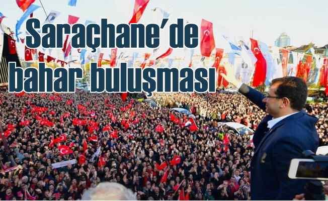 İmamoğlu Saraçhane'yi dolduran vatandaşlara seslendi