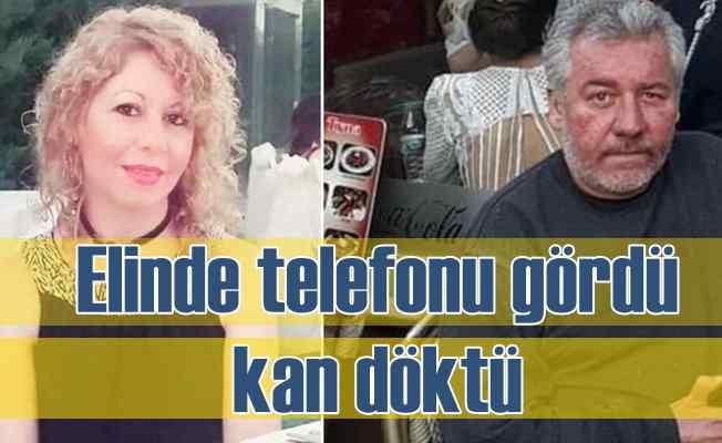 Karısını 'Başkasıyla mesajlaşıyor' sanarak öldürmüş