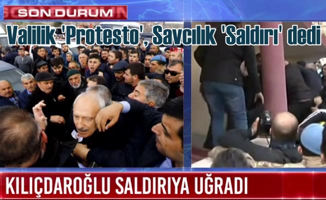 Kılıçdaroğlu'na saldırı, Savcılık soruşturma açtı