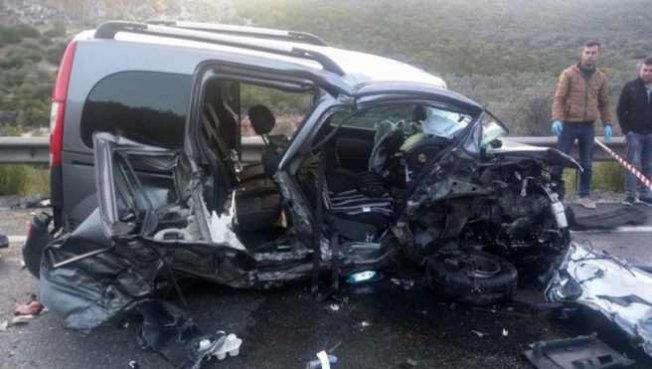 Milas'ta feci kaza, 2 ölü 4 yaralı var