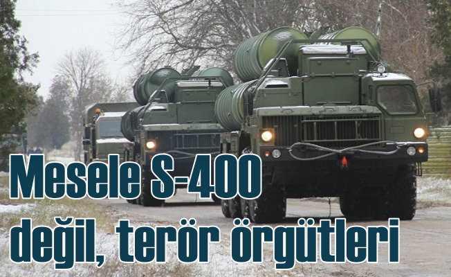 Ömer Çelik   S-400 değil, terör örgütüne verdiğiniz desteği konuşalım
