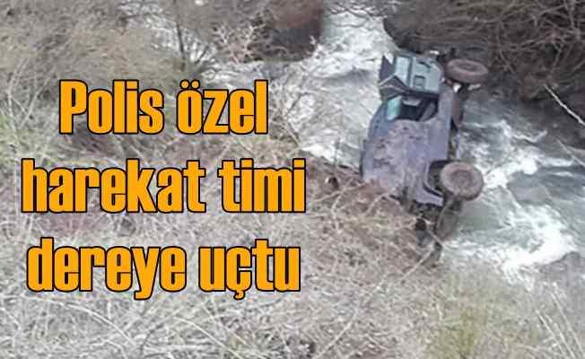 Polis özel harekat ekibini Allah korudu, 6 yaralı var