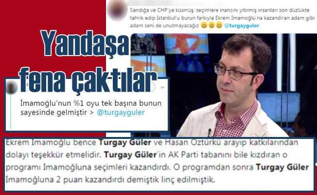 Turgay Güler'in kibri, İmamoğlu'na yaradı