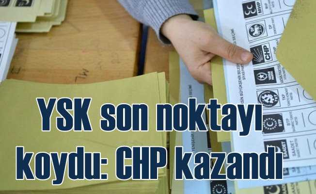 YSK açıkladı, Türkiye nefes aldı | İstanbul'da CHP kazandı