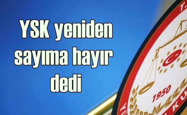 YSK'dan gece yarısı kararı | AK Parti'ye soğuk duş