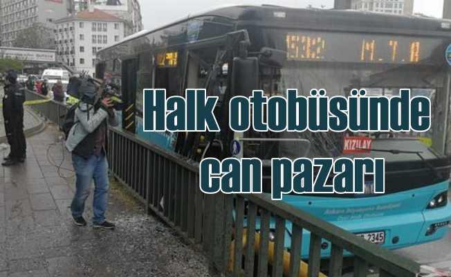 Ankara Çankaya'da can pazarı, 10 yaralı var