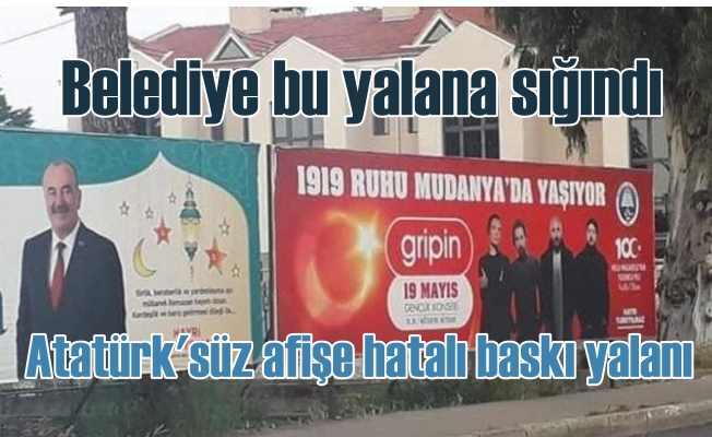 Bursa'da iki belediye 19 Mayıs'ı Atatürk'süz kutluyor