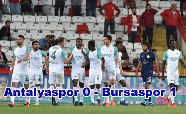 Bursaspor 7 maç sonra galip