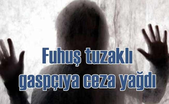 Kayseri'de fuhuş tuzağıyla gasp için 14 yıl hapis