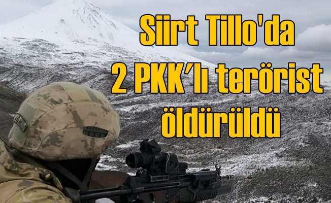 PKK'ya Tillo darbesi; Ferman Gabar öldürüldü