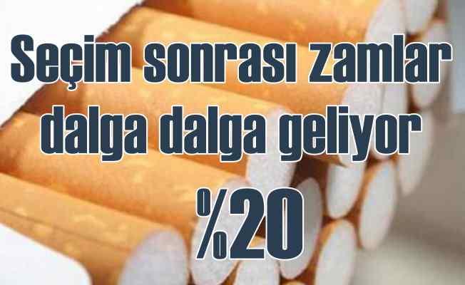 Sigaraya zam geldi | Seçimden önce kalkan vergi geri döndü, 2 TL zamlandı