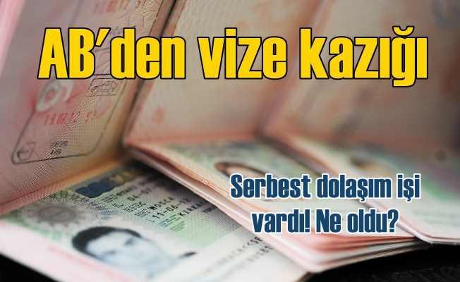 Türk vatandaşlarına Schengen vizesi zorlaştırıldı