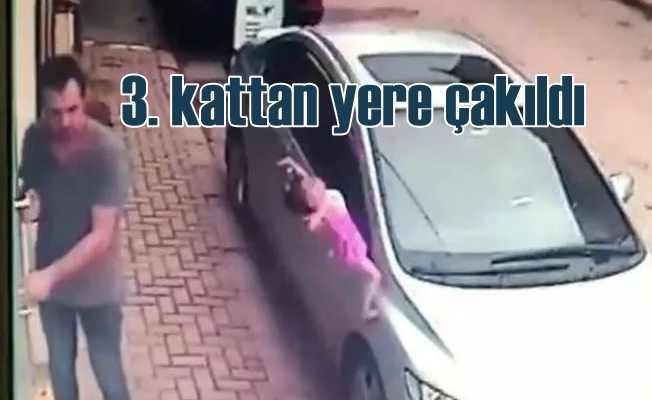 Açık bırakılan pencereden 2 yaşındaki bebek düştü