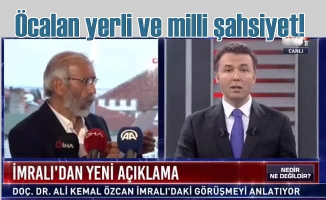 Doç. Dr. Ali Kemal Özcan   Öcalan yerli ve milli şahsiyet