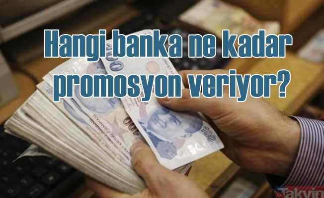 Emekliye banka promosyonu | Hangi banka ne kadar veriyor