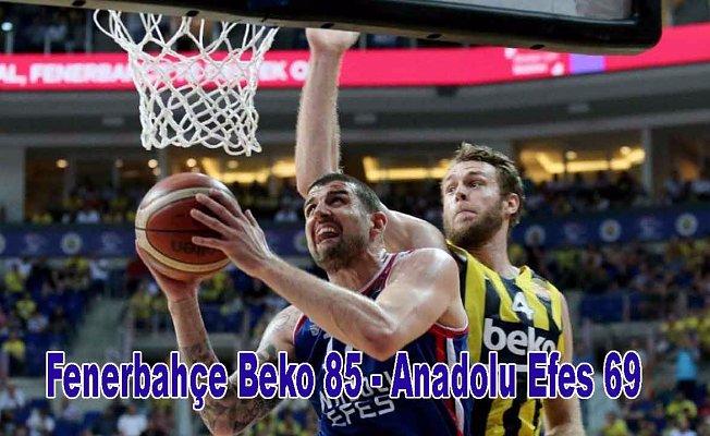 Fenerbahçe Beko,Anadolu Efes'e vize vermedi