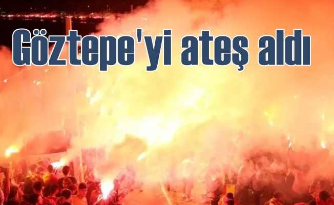 İzmir'i Göztepe ateşi sardı, 94. yıl coşkusu