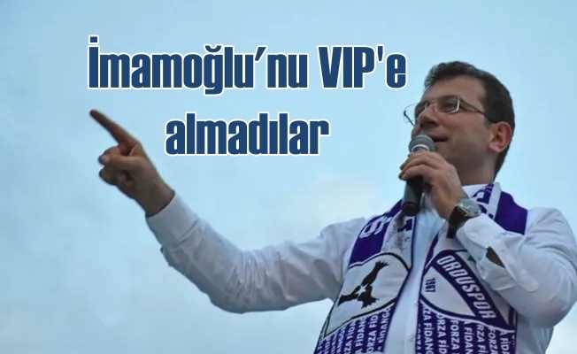 Karadeniz gezisinde İmamoğlu'na VIP ambargosu