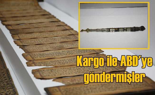 Kargo ile tarih eser kaçakçılğı, Kapalıçarşı'ya şok baskın