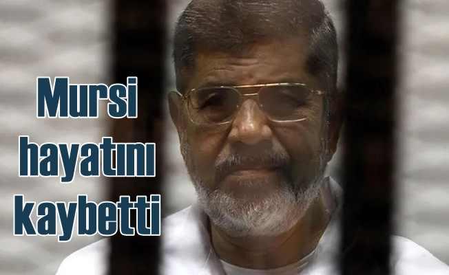 Mısır Devlet Başkanı Mursi mahkemede hayatını kaybetti