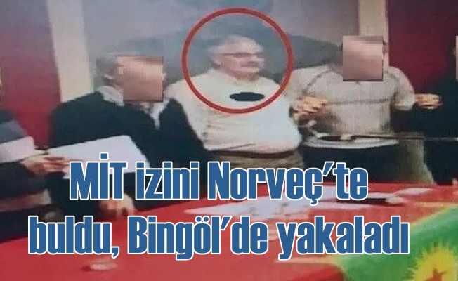 Norveç'li PKK destekçisi Bingöl'de yakalandı...