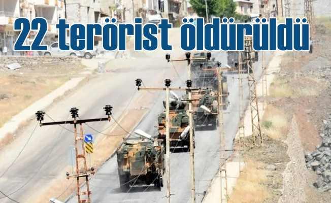 Pençe harekatı 4'ncü günde, 22 terörist öldürüldü