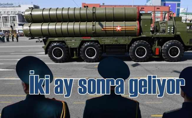 Rusya açıkladı, S-400 teslimatı 2 ay sonra başlayacak