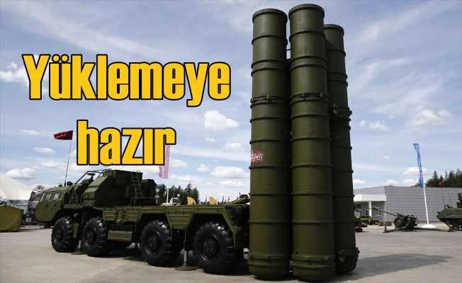 S-400 füzeleri | Moskova yüklemeye hazır