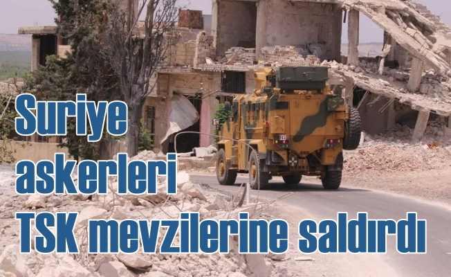 Suriye güçleri TSK Gözlem Noktası'na saldırdı, 1 şehidimiz var