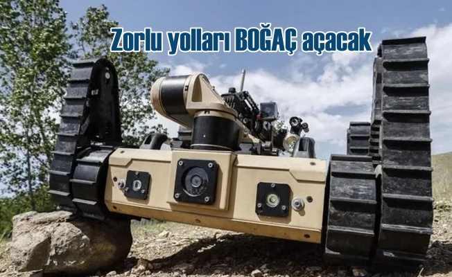 TSK, Boğaç adlı robotik kara aracı ile düşman mevzilerini vuracak!