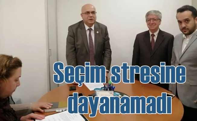 YSK il başkanı Ziya Bülent Öner hastaneye kaldırıldı