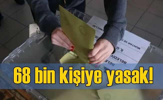 YSK, İstanbul seçimlerinde 67 bin seçmeni sakıncalı buldu