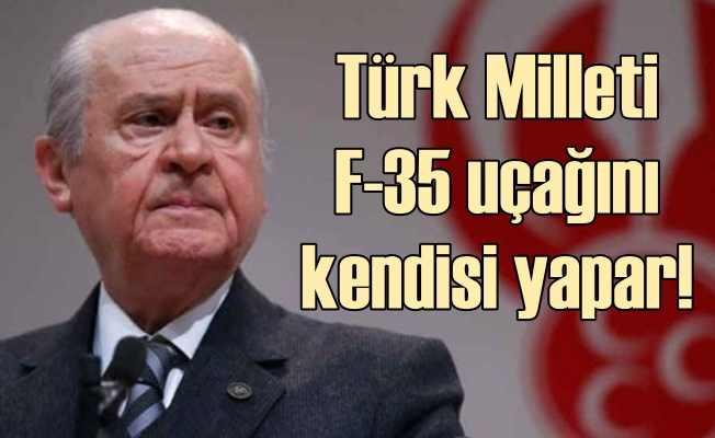 Bahçeli Atatürk'ün sözleriyle Amerika'yı hedef aldı
