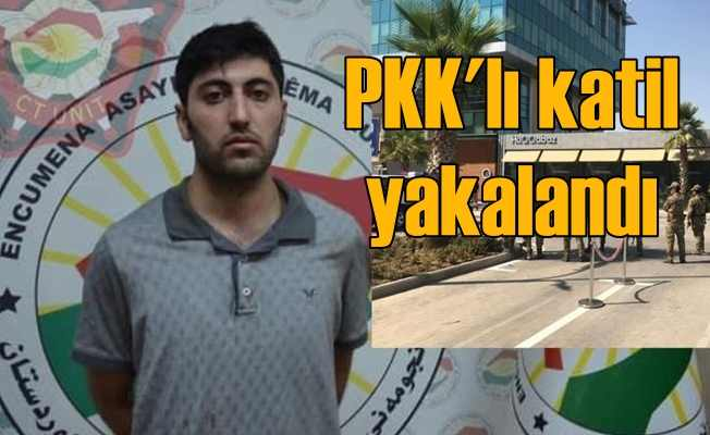 Erbil'de diplomatımızı şehit eden PKK'lı katil yakalandı