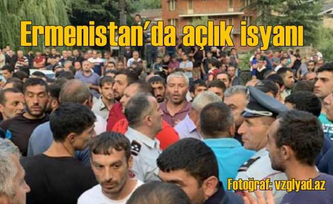 Ermenistan'da açlık isyanı, yoksulluk hızla yaygınlaşıyor