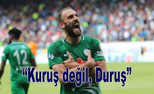 Galatasaray'dan Muriqi'ye tepki
