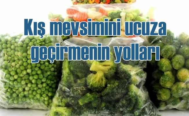 Kışlık sebze ve meyveleri ucuza alın