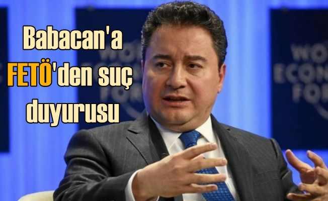 Parti kurmaya hazırlanan Ali Babacan'a FETÖ'den suç duyurusu