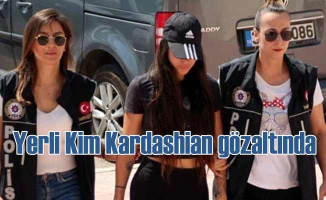 Sosyal medya fenomeni yerli Kim Kardashian'a gözaltı
