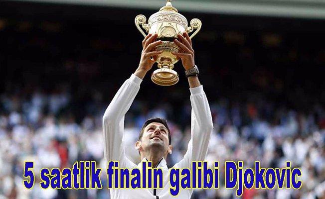 Tek erkeklerde şampiyonDjokovic,