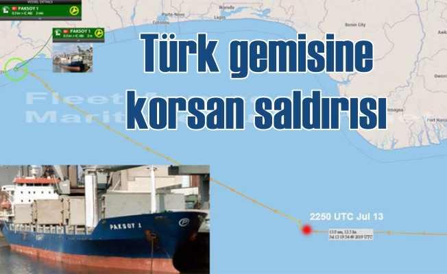 Türk gemisine korsan saldırısı, 10 denizcimiz kaçırıldı