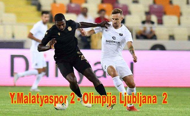 UEFA Avrupa Ligi'nde 2. Eleme Turunda Y.Malatyaspor evinde berabere kaldı