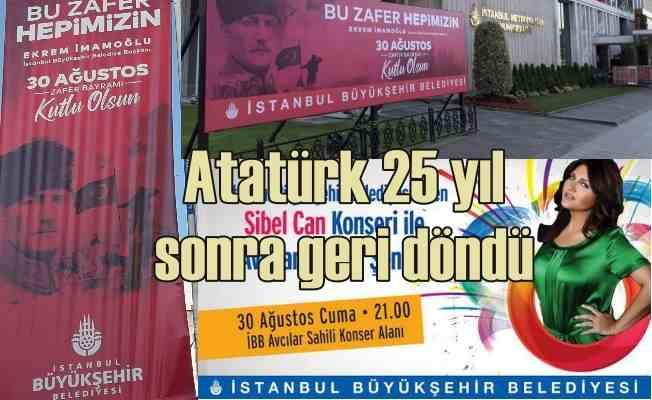 30 Ağustos Zafer Bayramı | Atatürk, 25 yıl sonra İstanbul'a geri döndü