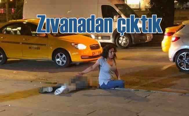 Altındağ'da akıllara zarar kavga | Eşinin yanında bıçakladılar