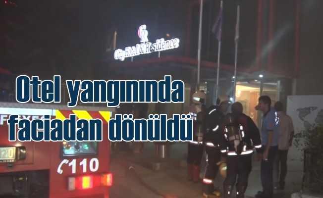 Ankara Çankaya'da City Otel'de sabaha karşı yangın