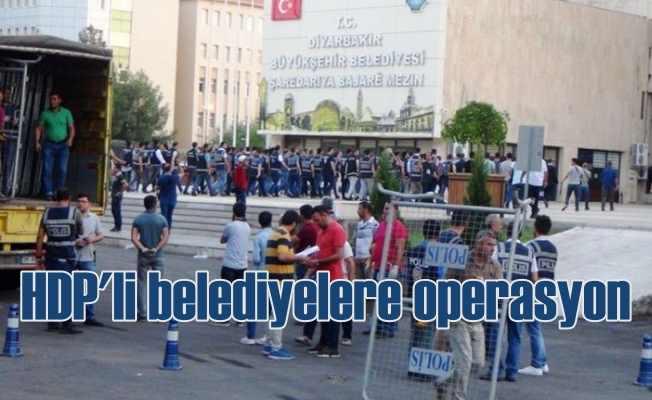 HDP'li Diyarbakır, Van ve Mardin belediyelerine kayyum atandı