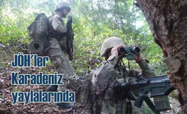 JÖH'ler Karadeniz Yaylaları'nda | Zirvede terör önlemi