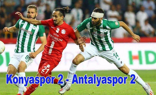 Konyaspor beraberliğe devam etti